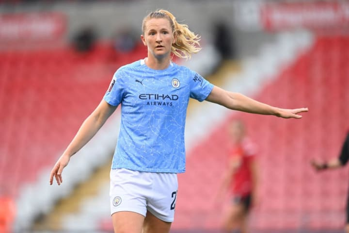 Sam Mewis was nominated for WSL player of the season