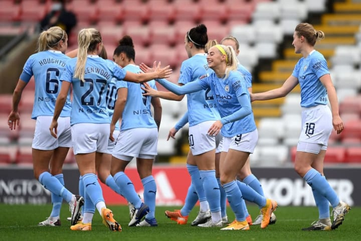 Man City are the WSL's in-form team now