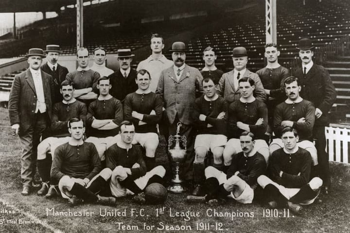 Manchester United football team for 1911