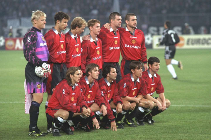 Manchester United teamgrou