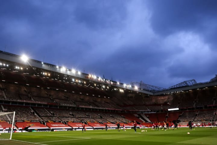 All Man Utd home games have been closed to fans since March 2020