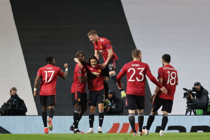 Man Utd have been improving since Solskjaer was appointed on a permanent contract in 2019