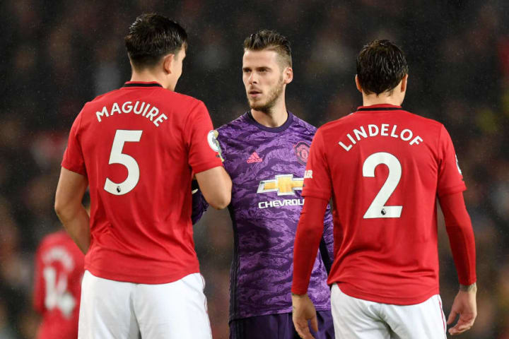 United's defence looks back to full strength since the restart