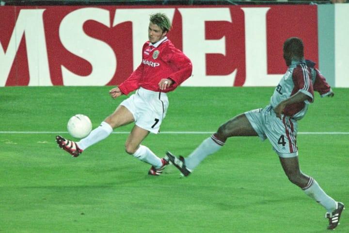 David Beckham, Samuel Kuffour
