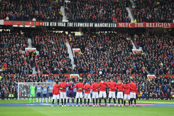 Old Trafford could see 10,000 fans return later this season