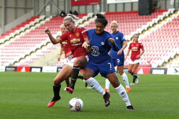 United drew 1-1 with Chelsea to begin 2020/21 WSL season