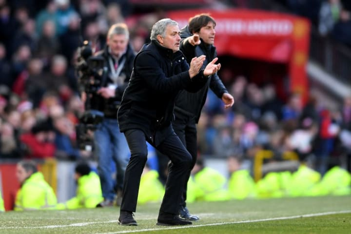 Jose Mourinho, Antonio Conte