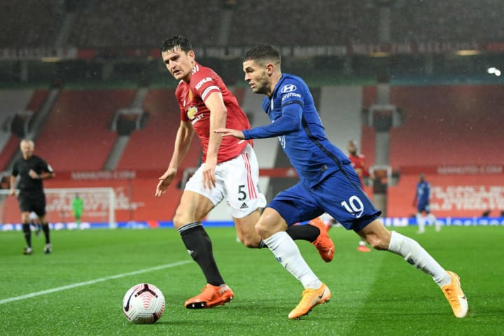 Harry Maguire, Christian Pulisic