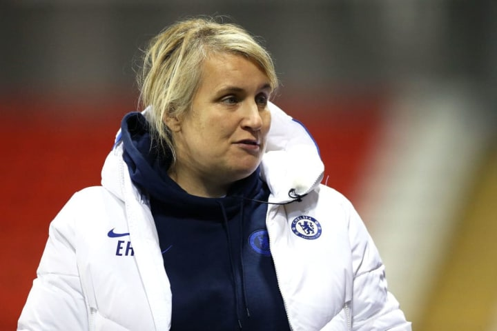 Emma Hayes has led Chelsea to WSL games unbeaten