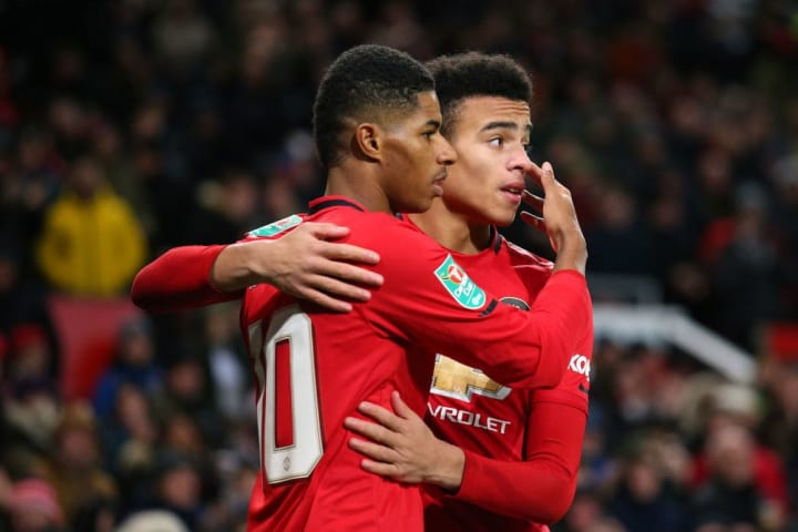 United's English attacking duo are on fire at the moment
