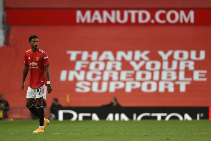 Marcus Rashford has pioneered change for those who are under privileged