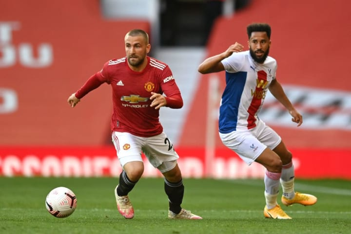Luke Shaw, Andros Townsend
