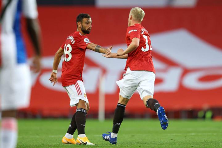 Man Utd already have Bruno Fernandes & Donny van de Beek