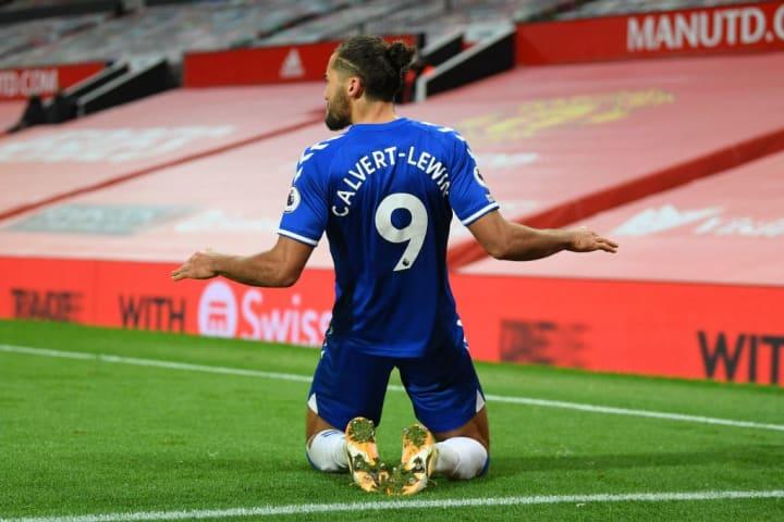 Dominic Calvert-Lewin will not feature for Everton