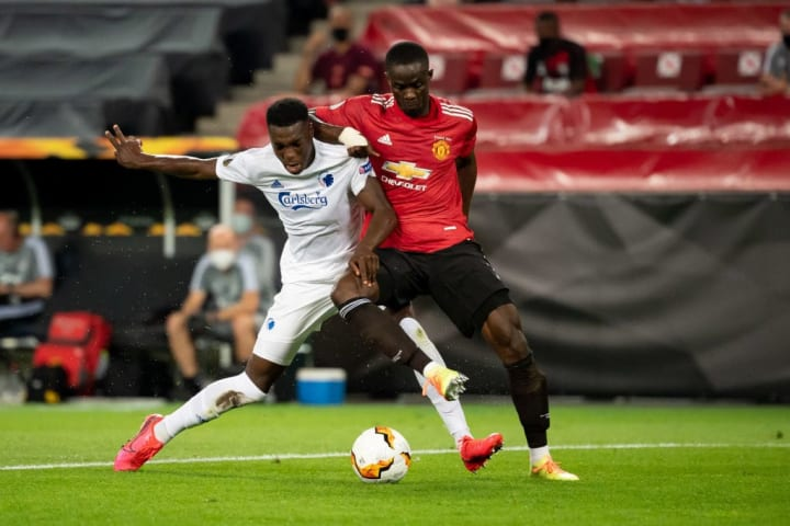 Bailly was solid at the back