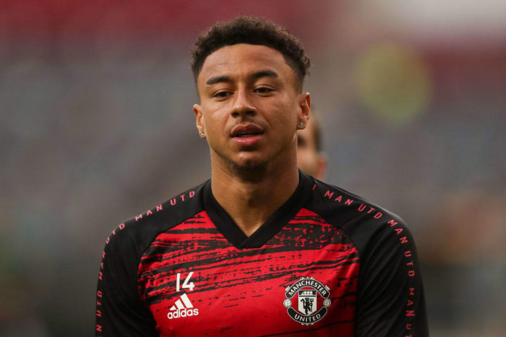 Lingard has not played in the Premier League during 2020/21