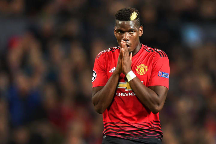 Paul Pogba PSG França Futebol Profissional Manchester United