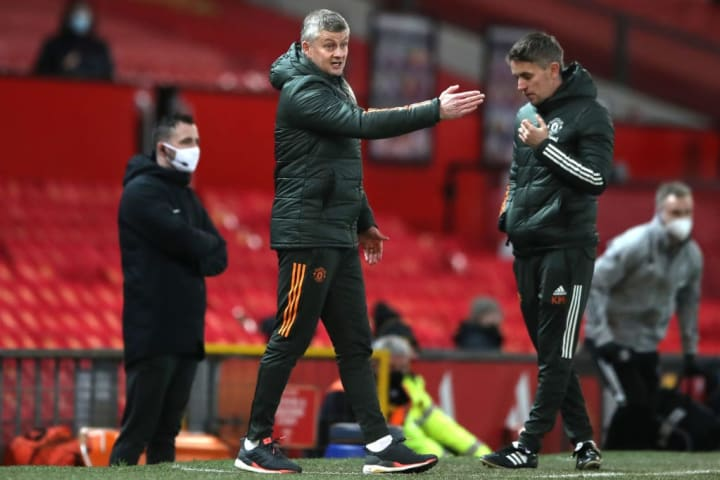 Solskjaer's charges were in a rampant mood against Leeds