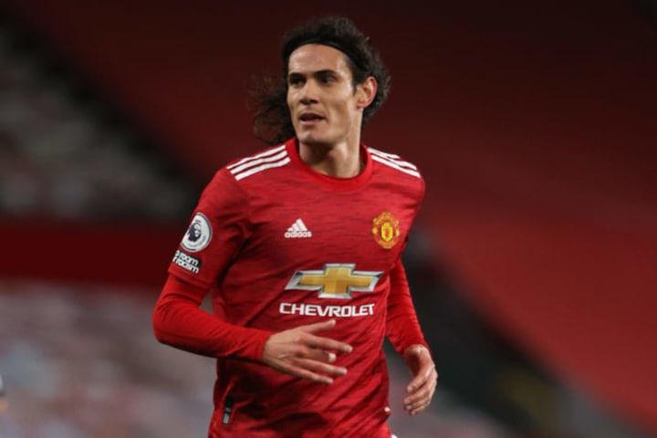 Cavani llegó libre al Manchester United