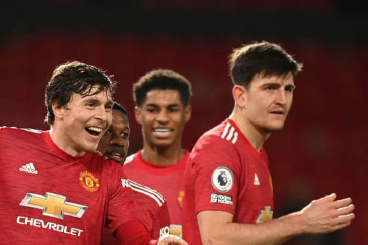 Maguire and Lindelof are Solskjaer's go-to centre-backs