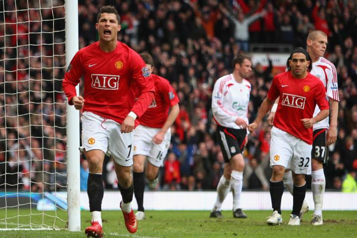 Man Utd vs Liverpool, 2008