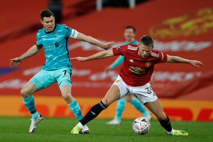 Scott McTominay, James Milner