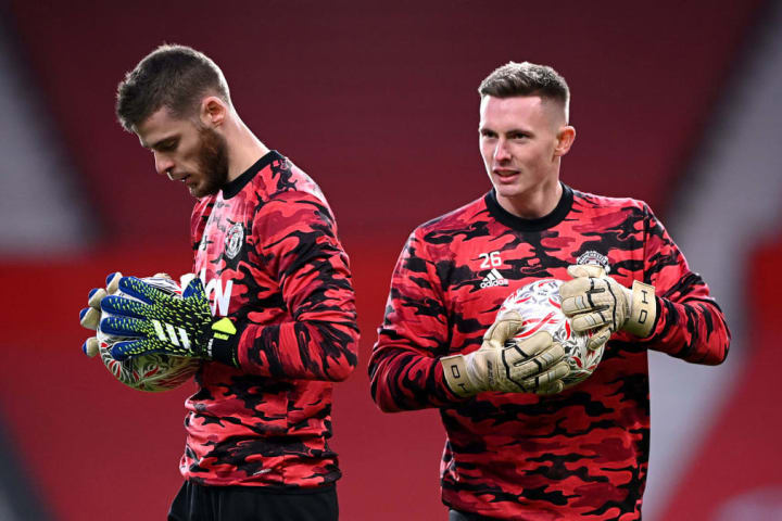 United's goalkeeping department is pretty stacked