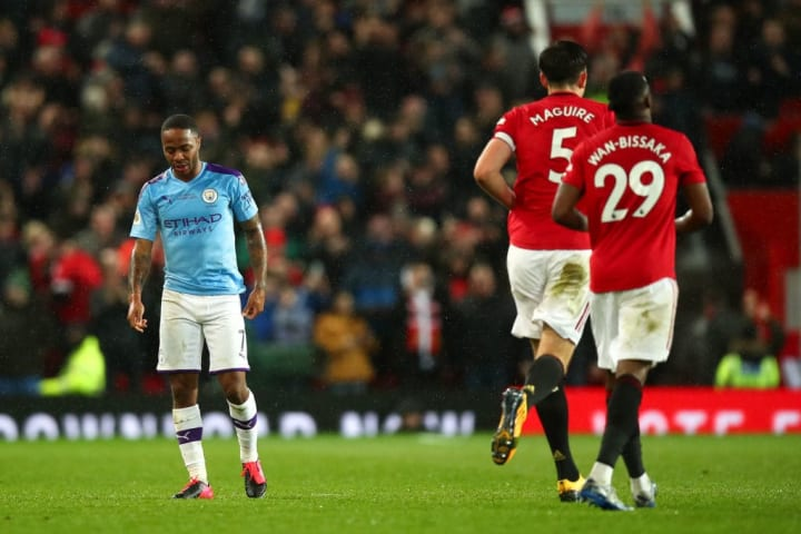 Raheem Sterling has never scored against Manchester United in a City shirt in 16 attempts in the Premier League.