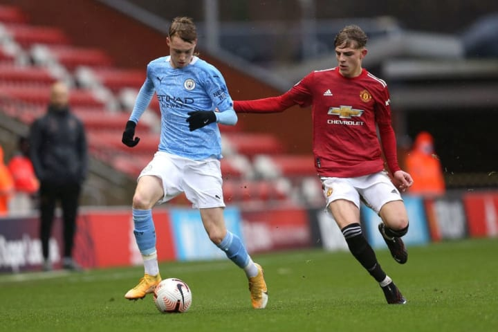 Most of Williams' minutes have come for United's Under 23s