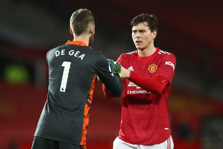 United are well set to progress