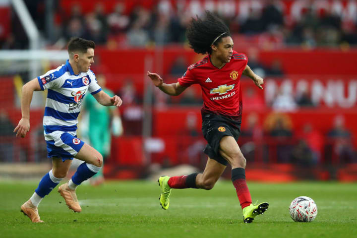 Tahith Chong was the first academy graduate Solskjaer handed a Man Utd debut to