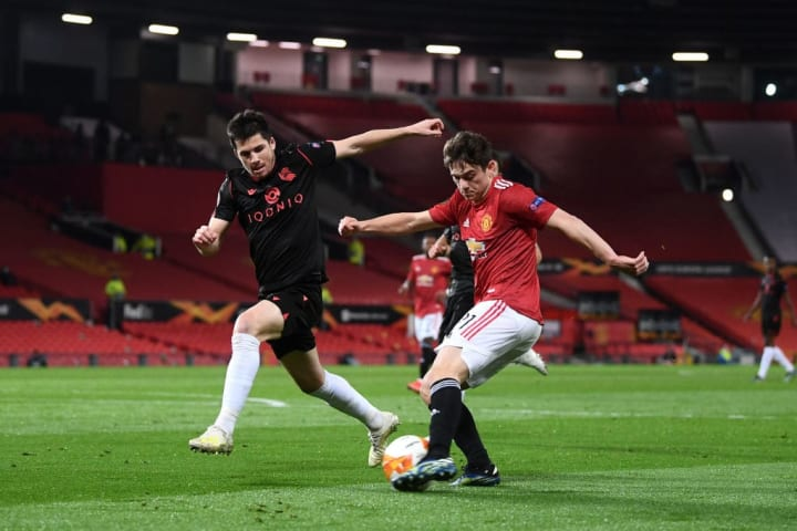 Daniel James retained his place in the side