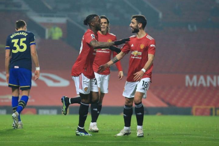 Wan-Bissaka scored a rare goal