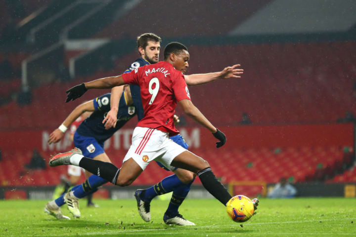 Martial looked sharp after coming on