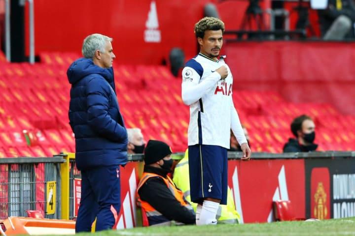 Dele Alli, Jose Mourinho
