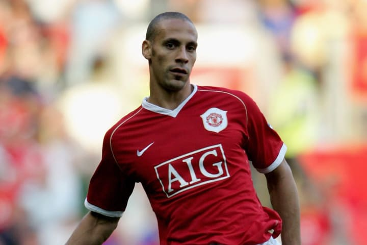 Rio Ferdinand was a rock at the back for the Red Devils