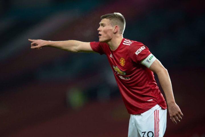Scott McTominay should return to the side