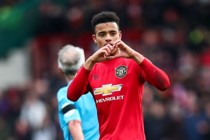 Mason Greenwood has five Premier League goals this season