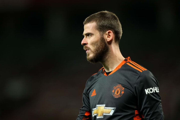 De Gea played outfield for his school until the age of 14