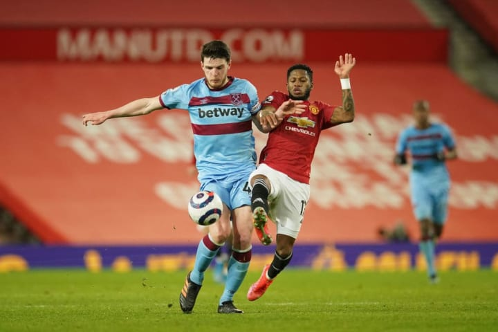 Rice has helped West Ham challenge for a Champions League place
