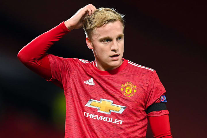 There could be a full Premier League debut for Donny van de Beek