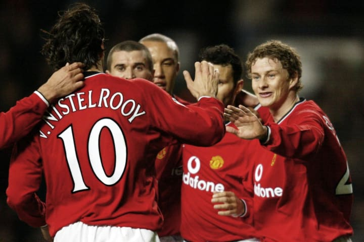 Man Utd thrashed Nantes in the Champions League in 2002