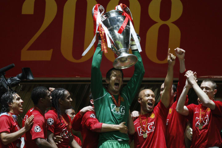 Van der Sar was crucial to Man Utd's success in the late 2000s
