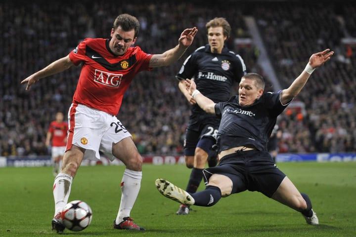 Manchester United's Irish midfielder Dar