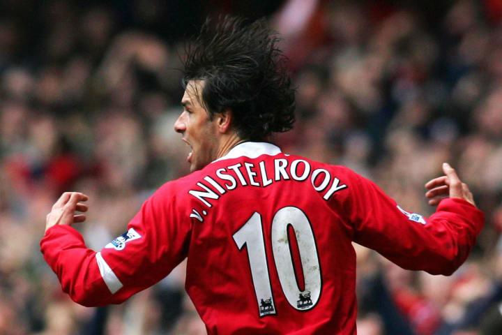 Ruud van Nistelrooy, leyenda del Manchester United