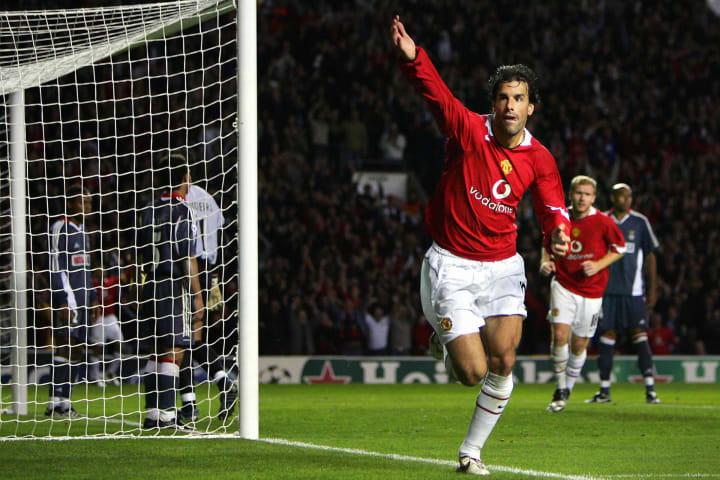 Ruud van Nistelrooy was a regular Champions League goalscorer at Man Utd