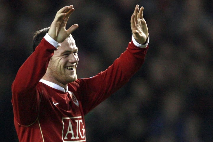 Selebritis Wayne Rooney dari Manchester United ...
