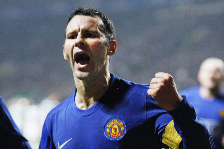 Giggs captained United to glory in 2008, and was a key part of the 1999 treble winners