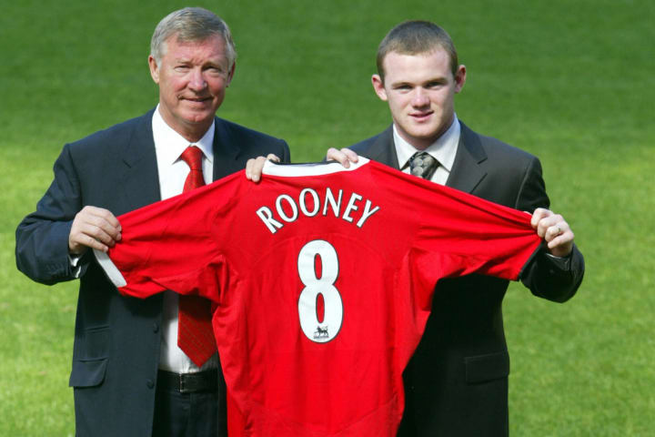 Wayne Rooney joined Manchester United in 2004