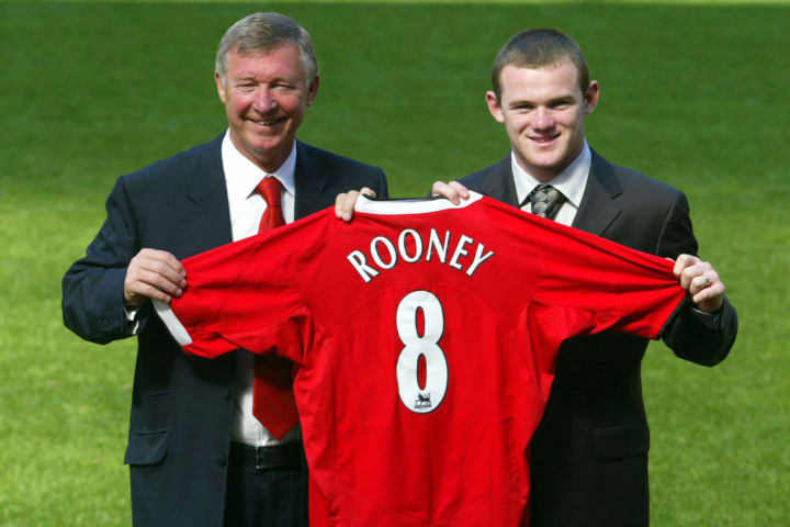 Gone are the days of a simple manager and player holding a shirt unveiling